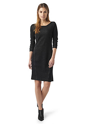 - Kleid aus Bio-Baumwolle und Bio-Merinowolle