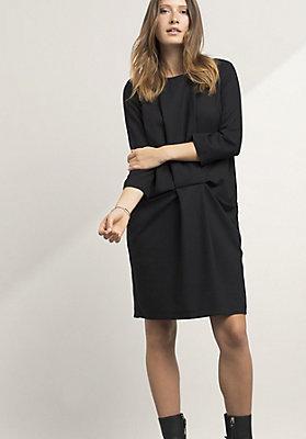 - Kleid aus Modal mit Schurwolle