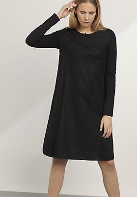 - Kleid aus Schurwolle, Bio-Baumwolle und Modal