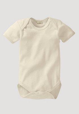 - Kurzarm-Body aus reiner Bio-Baumwolle