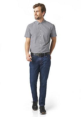 - Kurzarmhemd Modern Fit aus reiner Bio-Baumwolle