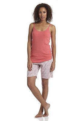 - Kurze Pyjamahose aus reiner Bio-Baumwolle