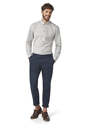 - Langarmhemd, Modern Fit aus Baumwolle