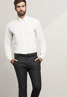 - Langarmhemd, Modern Fit aus reiner Baumwolle