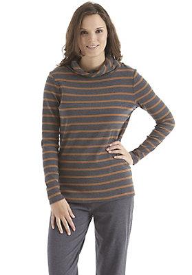 Shirts - Langarmshirt geringelt aus reiner Bio-Baumwolle