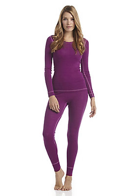 - Lange Damen-Pants PureWOOL aus reiner Bio-Merinowolle