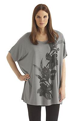 - Longshirt aus Modal