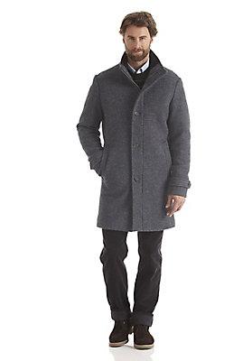 outdoor-aktion-herbst - Mantel aus reiner Schurwolle