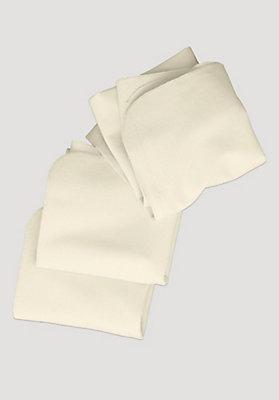 - Molton-Tuch 3er-Pack aus reiner Bio-Baumwolle