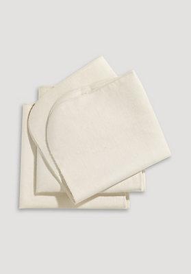 - Moltoneinlage im 3er-Pack aus reiner Bio-Baumwolle