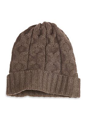 damenkleidung-aus-yak - Mütze aus reinem Yak