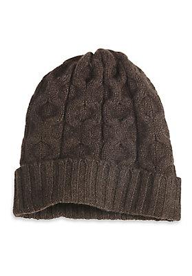 - Mütze aus reinem Yak