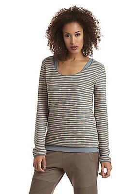 - Multicolor-Pullover aus reiner Bio-Baumwolle