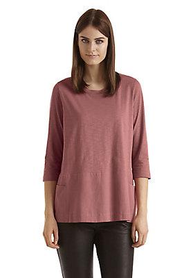 - Patch-Shirt für Damen aus reiner Bio-Baumwolle