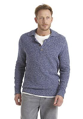 - Polo-Pullover aus reiner Bio-Baumwolle