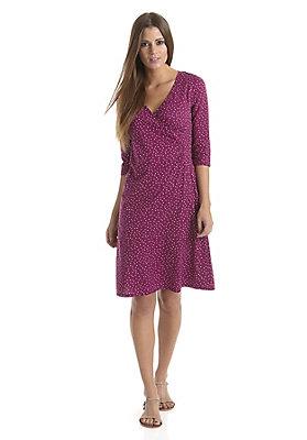 neu-damen-bekleidung - Pünktchen-Wickelkleid aus reiner Bio-Baumwolle