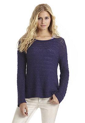 - Pullover aus Alpaka mit Seide und Baumwolle