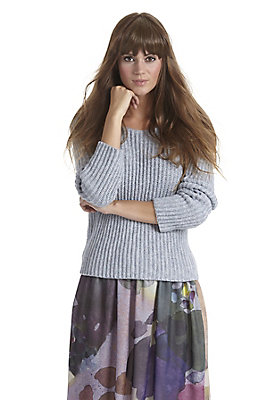 - Pullover aus Bio-Baumwolle mit Alpaka