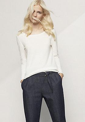 - Pullover aus Bio-Baumwolle und Modal