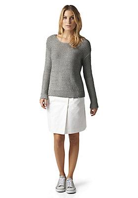 - Pullover aus Leinen und Bio-Baumwolle