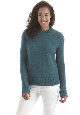 - Pullover aus Mohair mit Seide
