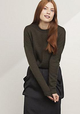 - Pullover aus Mohair und Seide