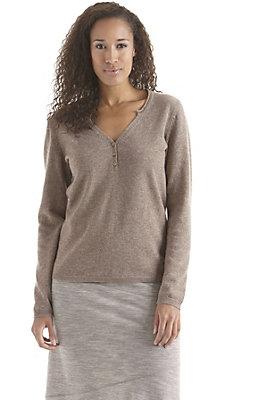 herbst-basics - Pullover aus Schurwolle mit Kaschmir