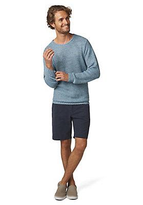 - Pullover aus reinem Leinen