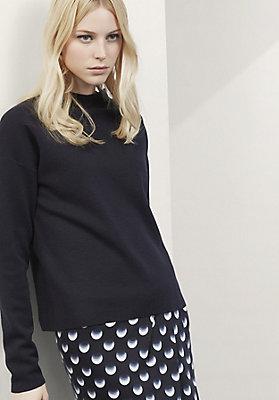 - Pullover aus reiner Bio-Merinowolle