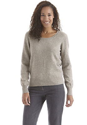 - Pullover aus reiner Yakwolle