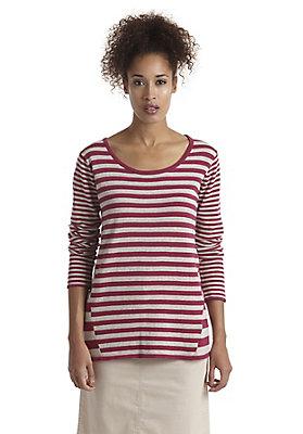 - Pullover geringelt aus reiner Bio-Baumwolle