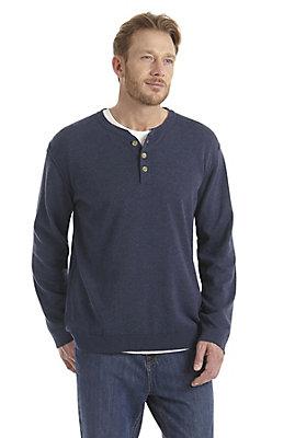 neu-herren-bekleidung - Pullover mit Knopfleiste aus reiner Bio-Baumwolle