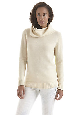 - Pullover mit Rollkragen aus reinem Kamelhaar