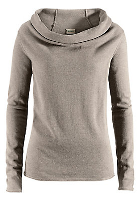 damen-neuheiten-herbst-kollektion-2014 - Pullover mit Rollkragen aus reiner Bio-Baumwolle