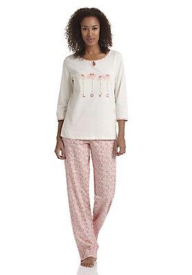 - Pyjama aus reiner Bio-Baumwolle