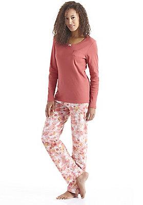 Schlafwäsche - Pyjamahose aus reiner Bio-Baumwolle