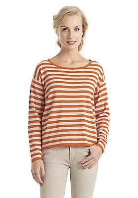 - Ringel-Pullover aus reiner Bio-Baumwolle