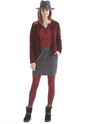 damenkleidung-aus-schurwolle - Rock aus reiner Schurwolle