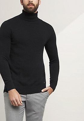 - Rollkragen-Pullover aus reinem Kaschmir