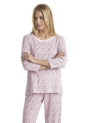 - Schlafoberteil 3-4 Arm aus reiner Bio-Baumwolle