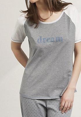 - Schlafshirt aus reiner Bio-Baumwolle