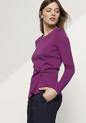- Shirt aus Baumwolle und Modal