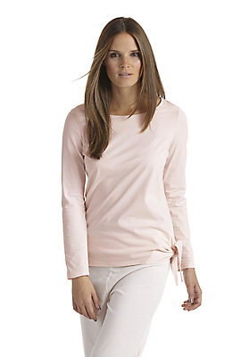 neu-damen-loungewear-sportswear - Shirt aus Bio-Baumwolle mit Kapok