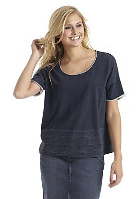 - Shirt in Jeans-Optik