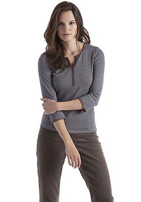 - Shirt mit Ringel aus reiner Bio-Baumwolle
