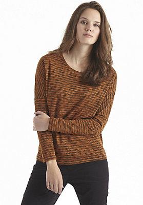 damen-neuheiten-herbst-kollektion-2014 - Shirt mit Streifen aus reiner Bio-Baumwolle