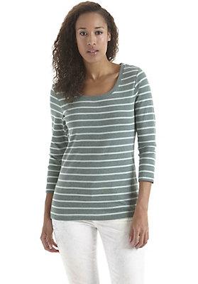 - Shirt mit Streifen aus reiner Bio-Baumwolle