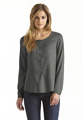 - Shirtbluse aus reinem Modal