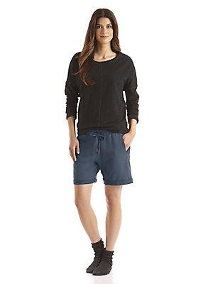 - Shorts aus Bio-Baumwolle mit Kapok