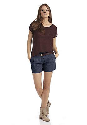 - Shorts aus reiner Bio-Baumwolle